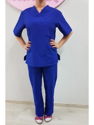 komplet med bluza + spodnie roz. XL