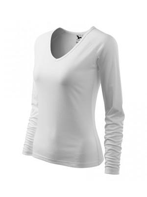 127 Koszulka V-neck Biała