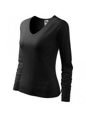 127 Koszulka V-neck Czarna