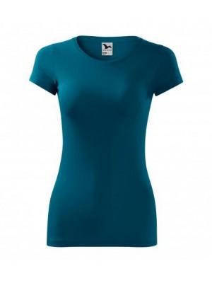 141 Koszulka Slim Petrol Blue