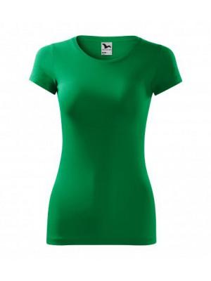 141 Koszulka Slim Tr.zieleń