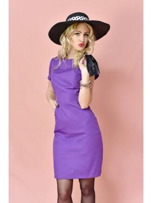 Sukienka nr 60 fiolet 90cm