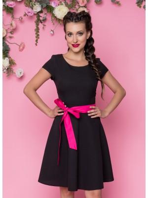 Sukienka nr 66 czarna 90 cm