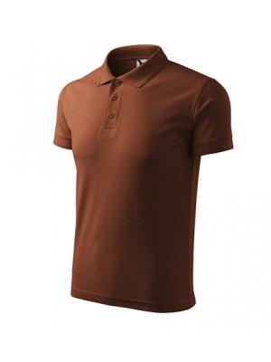 203 Koszulka Polo Brąz