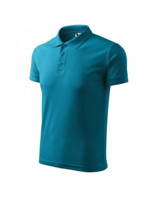 203 Koszulka Polo ciemny turkus