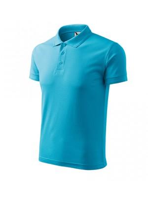 203 Koszulka Polo turkus