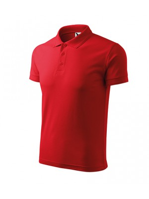 203 Koszulka Polo Czerwień