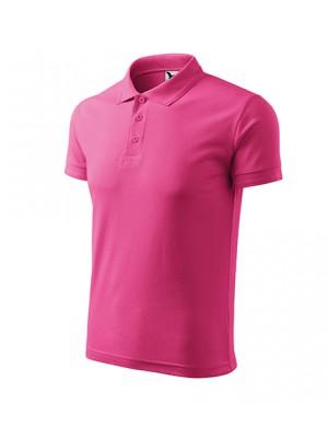 203 Koszulka Polo Fuksja