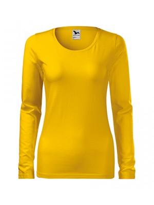139 Koszulka Slim Żółty