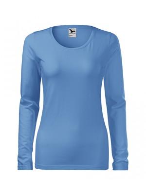 139 Koszulka Slim Błękit