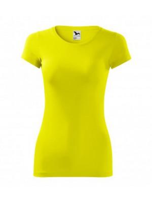 141 Koszulka Slim Cytryna
