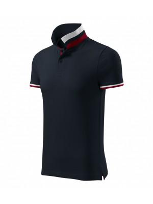 256 Koszulka Polo Granat S