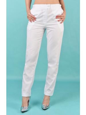 Fason 42 Spodnie białe roz 46 dł 106 cm B70