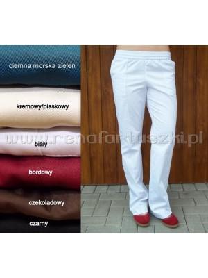 Fason 18 Spodnie bordowy
