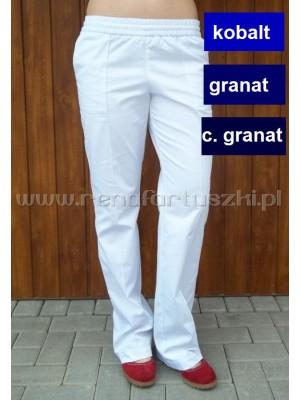 Fason 18 Spodnie kobaltowe