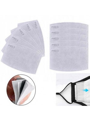 10x Filtr maski maseczki ochronnej PM 2.5 Węglowy