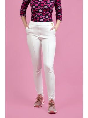 Spodnie nr 106 ecru