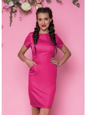 Sukienka nr 60 fuksja 90cm