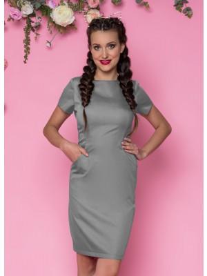 Sukienka nr 60 szary 90cm roz 34, 44