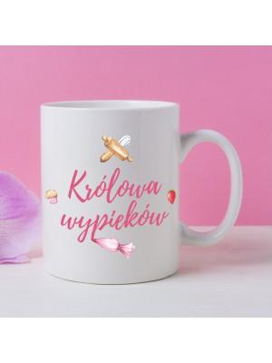K27 Kubek Królowa wypieków róż