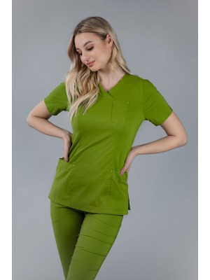 Bluza medyczna scrubs 101 zielona