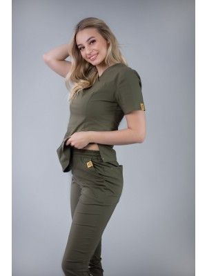 Bluza medyczna scrubs 101 khaki