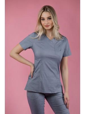 Bluza medyczna scrubs 101 jasny jeans