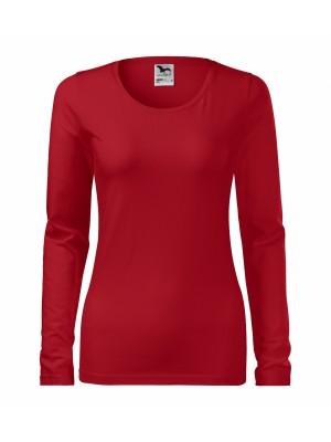 139 Koszulka Slim Czerwona