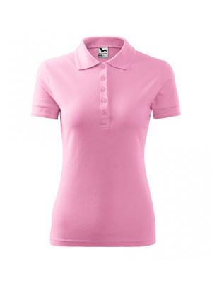 210 Koszulka Polo Pudrowy Róż