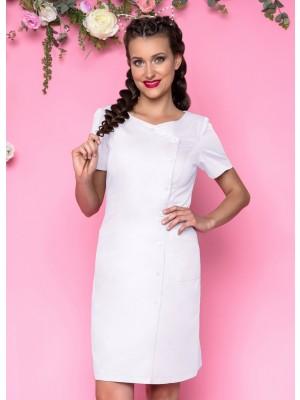 Sukienka nr 41 biel 90 cm cyrkonie