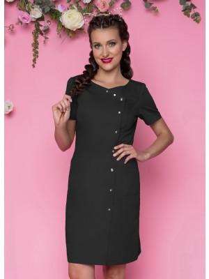 Sukienka nr 41 czerń 90 cm cyrkonie