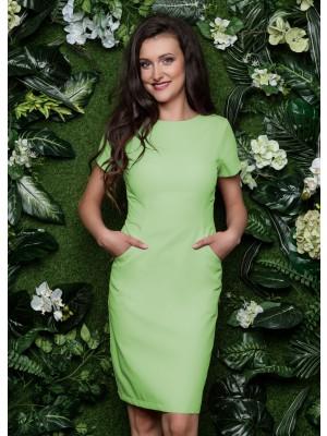 Sukienka nr 60 limonka 90cm