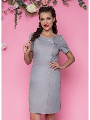 Sukienka nr 41 szara 90 cm cyrkonie